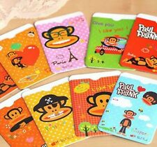 10 Pcs Cartoon Secure Protector Blocking ID Credit Card Sleeves Holder Case Skin