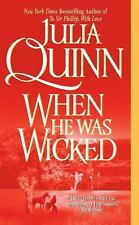 When He Was Wicked (Bridgerton Family Series), Julia Quinn, 0060531231, Book, Go