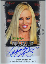 2012 LEAF POP CENTURY AUTO: JENNA JAMESON #3/25 AUTOGRAPH XXX QUEEN OF PORN