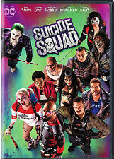 Suicide Squad DVD 2016 NEW Action Fantasy, Crime ***NOW SHIPPING !!
