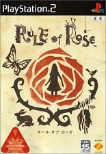 PS2 RULE of ROSE Japan