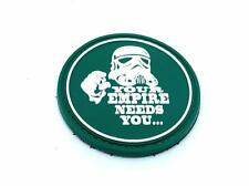 Your Empire Needs You Stormtrooper Green Star Wars PVC Airsoft Patch