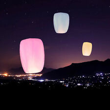 5pc Chinese Paper Lucky Sky Kongming Lanterns Fly Candle Lamp Light Wish Wedding