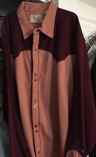 Scully Gorgeous Men's Embroidered Western Shirt XXL