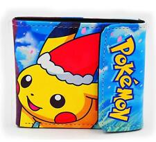New Anime Pokemon Pikachu Short Leather Wallet Purse Cool Gift #41