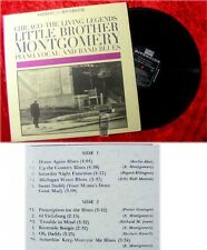 LP Little Brother Montgomery: Chicago The Living Legend