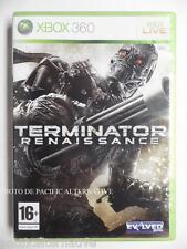 jeu TERMINATOR RENAISSANCE pour xbox 360 en francais game spiel juego gioco X360