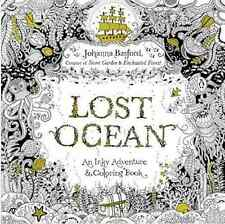 Lost Ocean An Inky Adventure and Coloring Book Johanna Basford Adult Anti Stress