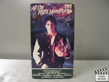 All the Right Moves VHS Tom Cruise, Craig T. Nelson, Lea Thompson