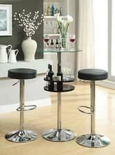 3 Piece Bar Height Dining Set with Backless Bar Stools by Coaster 120715-102558