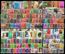 INDIA 300 All Different Used Stamps-Large & Small-Pre & Post Independence
