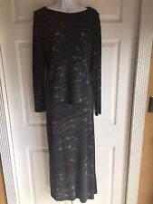 MAGGY LONDON 2 piece dress set with maxi skirt size 12