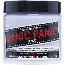 Virgin Snow White Manic Panic Vegan 4 Oz Hair Dye Color New