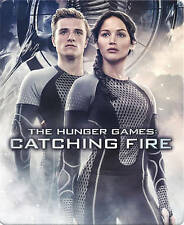 The Hunger Games: Catching Fire Steelbook (Blu-ray 2-Disc, 2013)