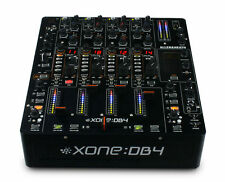 Allen & Heath-Xone XONE-DB4 4 Channel DJ Mixer with FX and USB Brand NEW