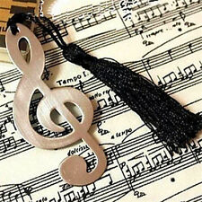 FD1603 □Music Note Alloy Bookmark Novelty Ducument Book Marker Label Stationery