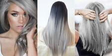 2 BOXS Berina Permanent Hair Color Cream Hair Style Dye Light Grey Silver A21+
