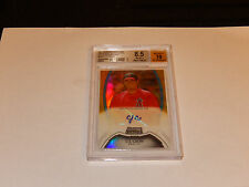 2011 Bowman Sterling Gold Ref C.J. Cron Auto Num 46/50 Beckett 8.5 NM-MT+10 Auto