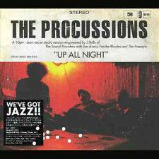 The Procussions CD Up All Night Cardboard Digipak Taiwan RARE Import