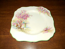 """antique J&G Meaking Lilac Time 8.5"""" luncheon plate"""
