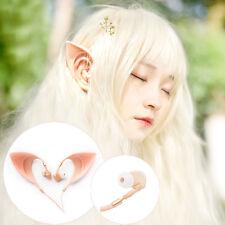 Elf Ears Costume Cosplay Spirit Earphones Headphones In-Ear HIFI Earbuds Remote