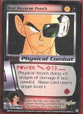 Dragonball Z TCG *Gratis Schutzhülle* | Red reverse punch #7 | 2000