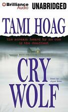 CRY WOLF unabridged audio book on CD by TAMI HOAG