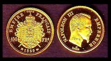 ★★ MINI DE LA 100 FRANCS 1859 BB ★ FDC, PAS OR