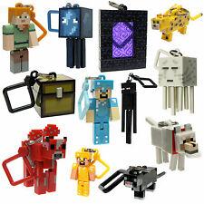 "Minecraft Series 2 Hangers 3"" Keyring Bag Clip 3D Vouge Keychain Toy 10 pcs/Set"