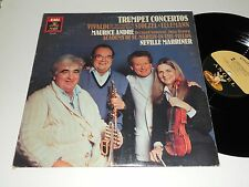 VIVALDI NM Trumpet Concertos Maurice Andre Iona Brown Marriner Stolzel Telemann