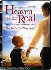 SEALED - Heaven Is For Real DVD NEW 2014 ORIGINAL -Based On True Story BRAND NEW