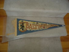 1962 Baltimore Clippers Hockey Team Pennant Mid Size TOUGH!