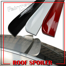 Painted For 7 Series BMW F01 F02 760Li Window Visor Rear Roof Lip Spoiler Wing