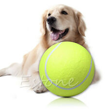 "9.5"" Big Giant Pet Dog Puppy Tennis Ball Thrower Chucker Signature Ball Play Toy"