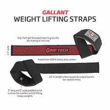 Gallant Padded Weight Lifting Training Gym Bar Hand Support Wrist Straps Gloves