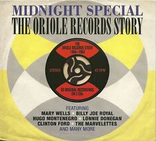 MIDNIGHT SPECIAL THE ORIOLE RECORDS STORY - 1956 - 1962 - 2 CD BOX SET
