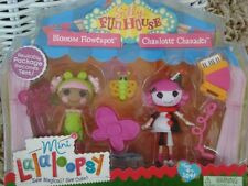 LaLaloopsy Silly Funhouse Blossom Flowerpot & Charlotte Charades Mini Dolls