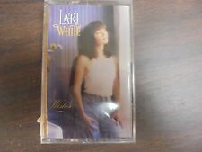 "NEW SEALED ""Lari White""  Wishes Cassette Tape (G)"