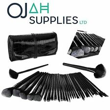 OJAH Professional 32 Piece Kabuki Make Up Brush Set and Cosmetic Brushes Case