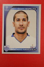 PANINI CHAMPIONS LEAGUE 2008/09 # 50 FARMAGUSTA FC SKOPELITIS BLACK BACK MINT!