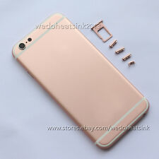 Rose Gold Alloy Replacement Back Battery Housing Cover Rear For iPhone 6 4.7""