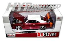 MAISTO 1:24 ALLSTARS 1969 DODGE CHARGER R/T RED 31091RD