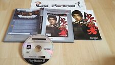PLAY STATION 2 PS2 ONIMUSHA WARLORDS COMPLETO PAL ESPAÑA