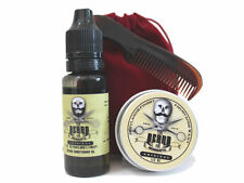 The Beard and The Wonderful, Moustache Wax,  Beard Oil, Comb & Bag Grooming Kit