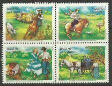 BRASIL 1992. Abrafex 92 Sello Exposición Juego SG: 2521a. Mint Nunca Nuevo