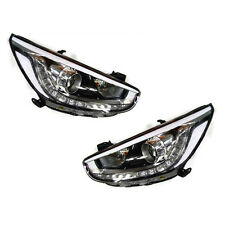 Genuine LED Projection Head Light Lamp Assy + Jack 4p For 11-15 Accent : Solaris