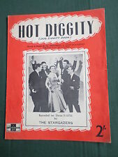 THE STARGAZERS - SHEET MUSIC - HOT DIGGITY