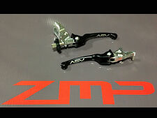 YAMAHA BANSHEE YFZ 350 F3 ASV CLUTCH AND BRAKE LEVERS BLACK PAIR PACK