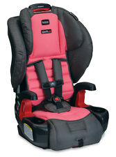 Britax 2015 Pioneer G1.1 Booster Car Seat With Harness in Coral New!