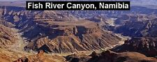 PANORAMA FRIDGE MAGNET of THE FISH RIVER CANYON NAMIBIA
